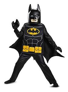 Disfraz Batman Lego Movie Deluxe Costume, Negro, Pequeño