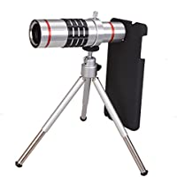 MY MIRACLE 18x Optical Telescope Camera Lens with Tripod+ cell phone case