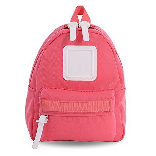 Mini Backpack For Women, Girls, Toddlers, ; Popular as a Purse, Diaper Bag, Miniature IPad or Daypack - Coral by Adamonica