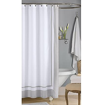 Wamsutta 72 Inch X Hotel Shower Curtain In Grey