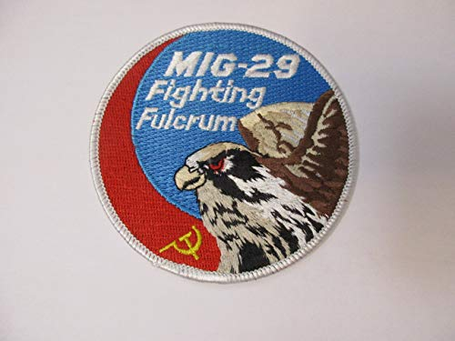 MIG-29 Fighting Fulcrum Embroidered Patch 4