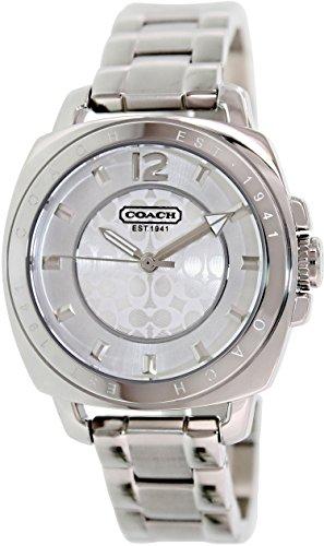 COACH Womens Boyfriend Bracelet Silver