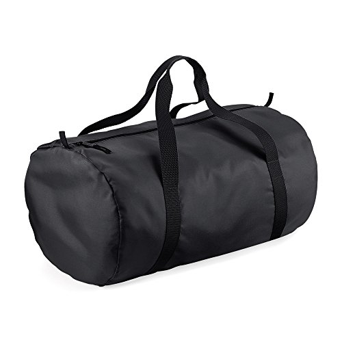 Barrel BagBase Black Packaway Bag Black 56r06qR
