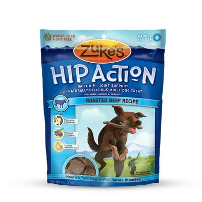 Zuke's- Hip Action, Beef, 6.25-Ounce (Pack of 12)