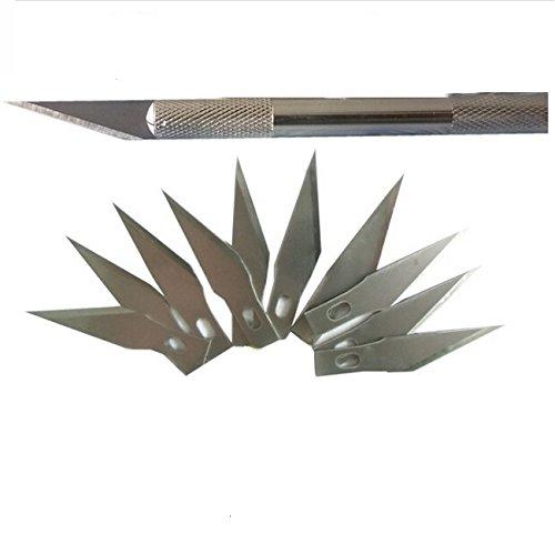 Taglierina Cutter Di Precisione Con 20 Lame Di Ricambio, Tipo 11 by CASCACAVELLE