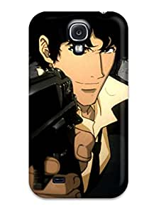 HByTbjY1819eUnJL Tpu Case Skin Protector For Galaxy S4 Spike Spiegel With Nice Appearance Sending Free Screen Protector