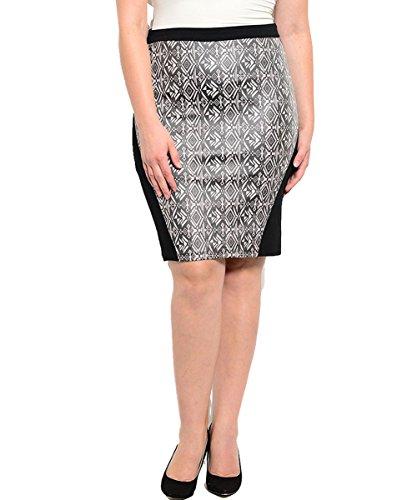 Plus Size On The Avenue Skirt --Size: 2x Color: Black