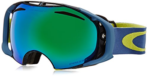 Oakley Airbrake Adult Goggles- Military Recon Citrus/Prizm Jade & Prizm Sapphire / One - Oakleys Sunglasses Military