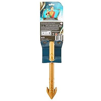 Justice League- Tridente de Aquaman,, Talla única (Mattel FWX36): Juguetes y juegos