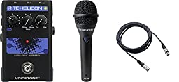 TC Helicon VoiceTone H1 and TC MP75 Mic and Cable Bundle