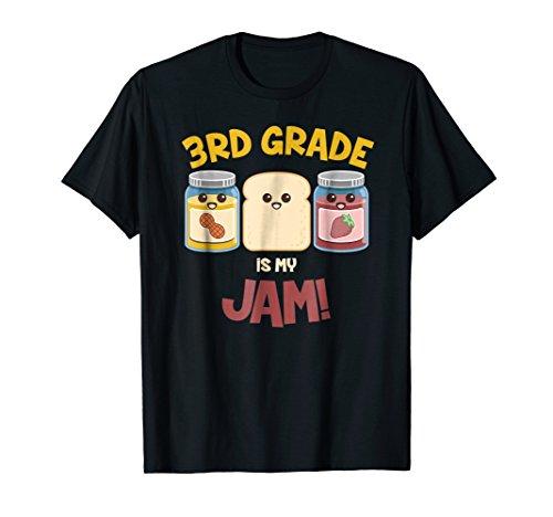 Third Grade Is My Jam T-shirt For Kids