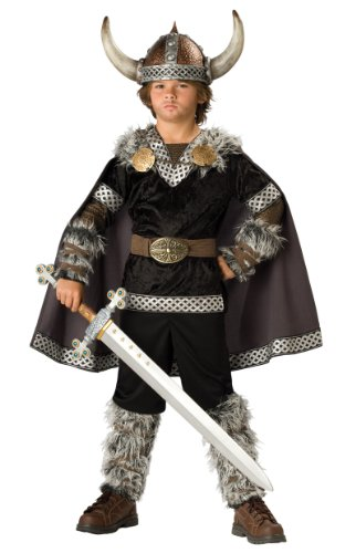 Viking Warrior Costume Size: 12 - Male Renaissance Costume Patterns