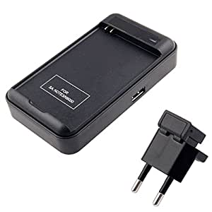 Generic Universal USB Output Style Battery Charger for Samsung Galaxy Note III/N9000 (EU Plug)