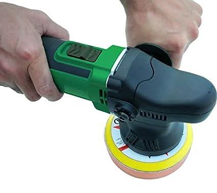 Stufenlose Geschwindigkeit 600-3300 inklusiv Poliertuch H/öfftech Winkelpolierer 1200 W traploos Polier-//Schleifteller-/Ø 180 mm