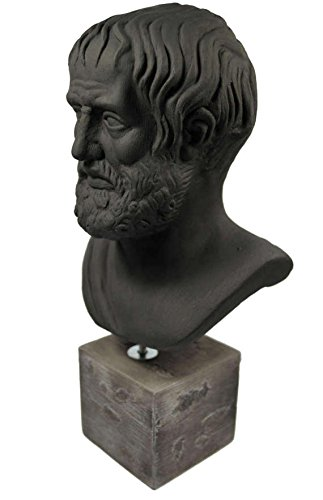 Scultura Aristotele greco filosofo statua busto