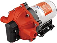ALL NEW 55-Series Diaphragm Pump - 12V DC, 5.5 GPM, 60 PSI with HEAVY DUTY PRESSURE SWITCH