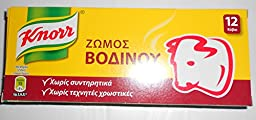 Knorr Beef Bouillon ( 12 Cubes )