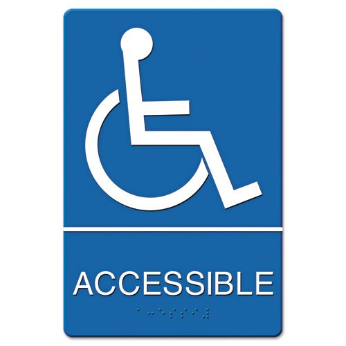 Headline Sign Wheelchair Accessible Tactile product image