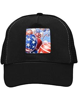 Unisex American Balloon Adjustable Classic Hiphop Hat Baseball Cap Snapback Dad Hat