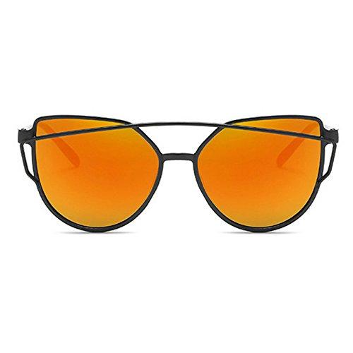 Sol Moda Hipster Gafas Personalidad G Sol B Gafas Color Unisex Metal Caja Y HJJ Grano Film Madera De Trend Estados De Unidos Europa ASD Nueva w5q6xInznX