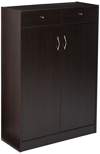 247SHOPATHOME 6138 Five Shelf Shoe Storage Cabinet, Cappuccino ()