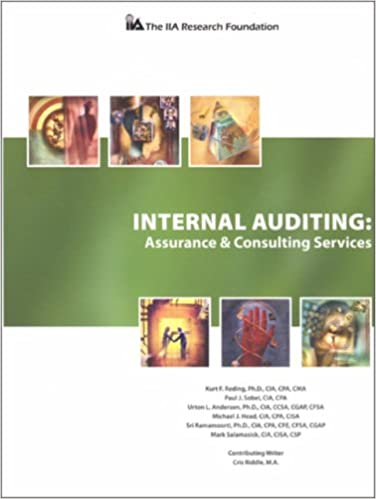 Internal auditing assurance and consulting services kurt f internal auditing assurance and consulting services 1st edition fandeluxe Gallery