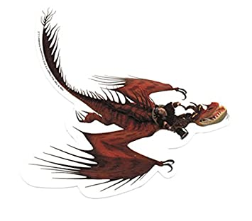 How to train your dragon 2 snotlout and hookfang sticker amazon how to train your dragon 2 snotlout and hookfang sticker ccuart Images