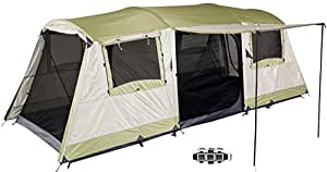 Oztrail Bungalow (Sleeps 9) Dome Family 9 Person Man Tent