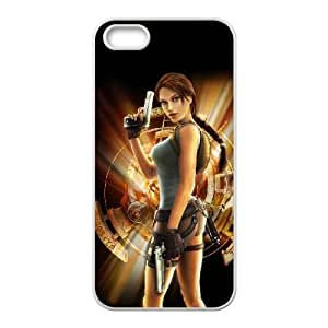 lara croft tomb raider anniversary iPhone 5 5s Cell Phone Case White xlb2-035134