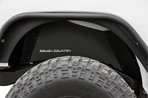 Rough Country – 10500 – Rear Steel Inner Fenders/Fender Liners for Jeep: 07-18 Wrangler JK 4WD, 07-18 Wrangler Unlimited JK 4WD/2WD