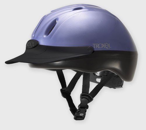 Troxel Spirit #1 Selling All Purpose Helmet Periwinkle - All Sizes (Small) (Troxel Schooling Spirit Helmet)