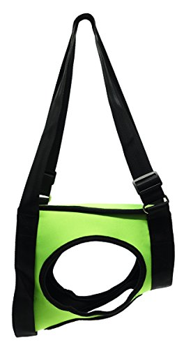 Vivaglory Dog Lift Harness - Rear Assist Lifting Harness - Support Vest Harness - Mobility Rehabilitation Sling Harness - Canines Aid for Senior Arthritis Disable Hiking Pets - Green - S