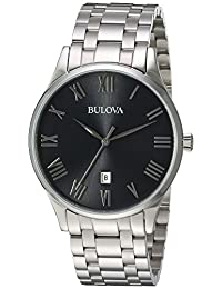 Bulova Mens 96B261 Dress Grey Dial Watch