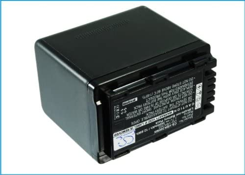 HDC-SD60K HC-V100M HC-V500M HC-V500 HDC-SD60 HDC-HS60K HSDZ Battery Suitable for Panasonic HC-V10 HDC-SD60S 3400mAh HC-V100 HC-V700M HC-V700 HDC-SD40