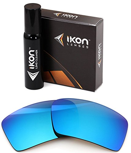 Polarized Ikon Iridium Replacement Lenses For Oakley Eyepatch 2 Sunglasses - Ice - Authentic Oakley