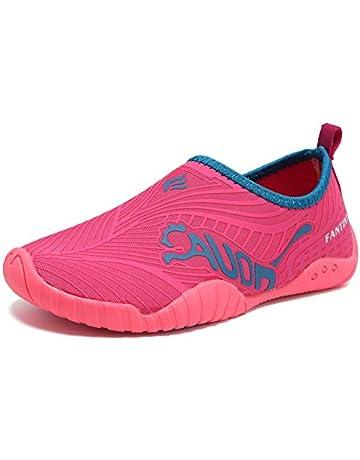 99dd6686dd DESTURE Kid Boy Water Shoes Quick-Dry Toddler Girl Slip-on Aqua Beach  Sneakers