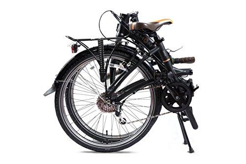 Dahon Briza D8-Bicicleta plegable, color negro mate, 8 V: Amazon.es: Deportes y aire libre