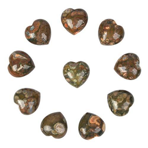 - Natural Rhyolite Jasper Gemstone Healing Crystal 0.8