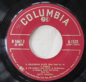 Price comparison product image 1. Never No Mo Blues 2. Sleep,  Baby Sleep / 1. California Blues 2. I'm Lonely and Blue (Vinyl 45,  7 inch)