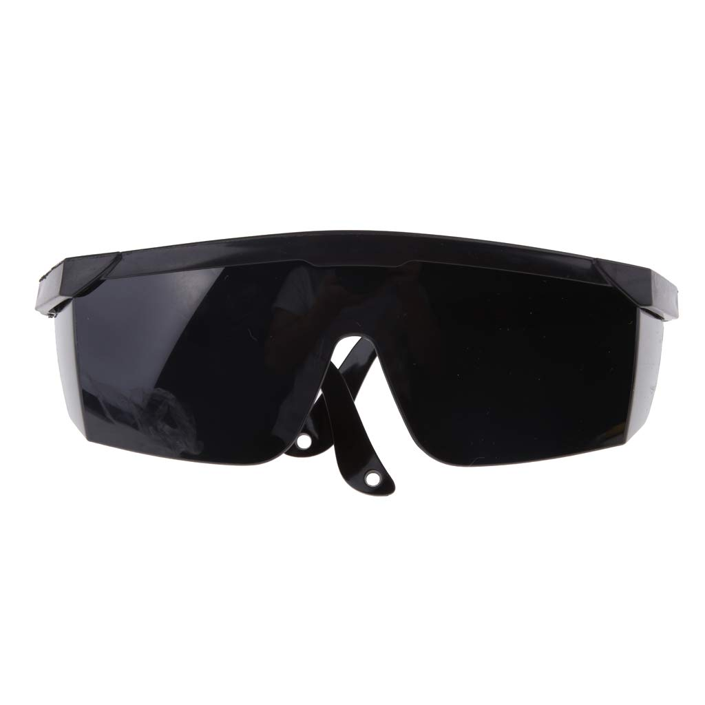 Flameer Protective Glasses Outdoor Safety Eyeglasses Dust-proof Welding Goggles - Black