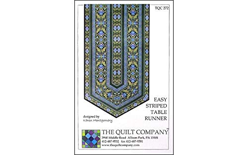 (The Quilt Company Easy Striped Table Runner Sewing Patterns )
