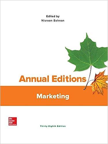 Annual Editions Marketing 38th Edition