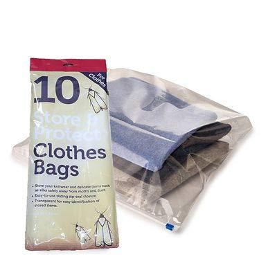 10 bolsas transparentes y fáciles de usar para almacenar y ...