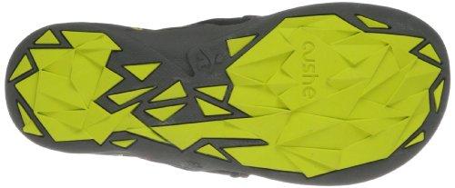 Cushe Mens Manuka Spindrift Flip-flop Noir / Citron Vert / Rouge