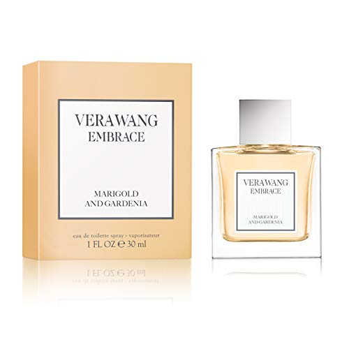 Vera Wang Embrace Eau de Toilette Spray for Women, Marigold and Gardenia, 1 Fluid Ounce ()