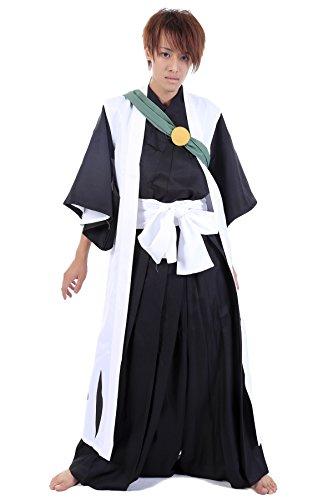 CHIUS Cosplay Costume Gotei 13 Squad 10th Captain Hitsugaya Toushirou Set V3 -