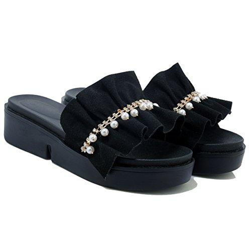JYshoes Plateforme JYshoes Femme Noir Femme JYshoes Noir Plateforme JYshoes Noir Plateforme Femme HHrqB