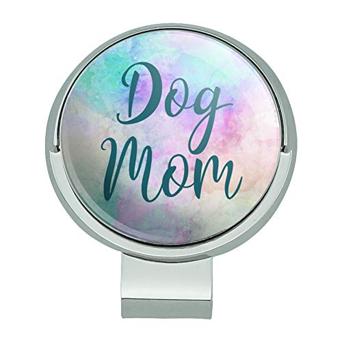 GRAPHICS & MORE Dog Mom Golf Hat Clip with Magnetic Ball Marker