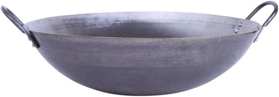 BRIZOLL Wok en Fonte 3,7 l 28 x 9,6 cm