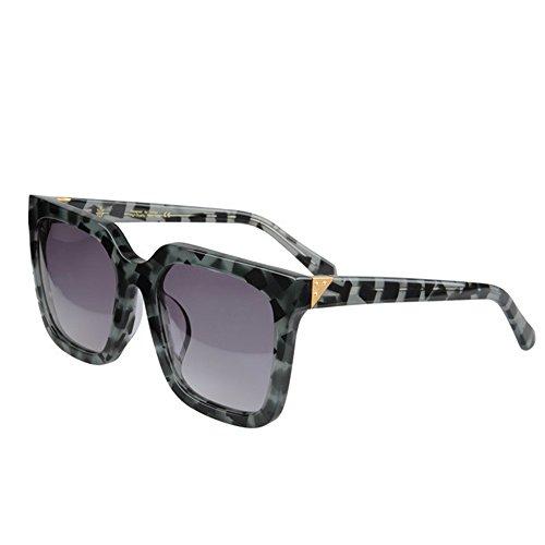 Vacaciones Playa Lente de acetato esquí Retro de polarizadas al Personalidad tamaño camuflaje de sol de gafas UV de Gafas gran Conducción Hombres Fibra sol Protección libre de TAC Gafas Verde de Marco aire 1PwRAnqx1Z
